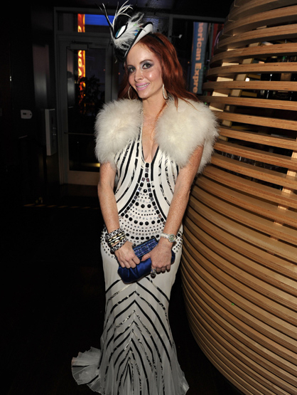 "The Best and Worst Dressed of the 2011 AMAs! - WORST Phoebe Price: This ""outfit"" is just SO wrong is SO many ways! What was she thinking?!"