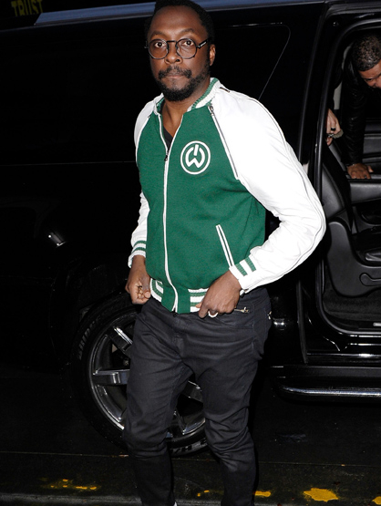 The Best and Worst Dressed of the 2011 AMAs! - WORST Will.I.Am: The usually stylish musician failed epically tonight looking like he was headed to a football game instead of the AMAs.