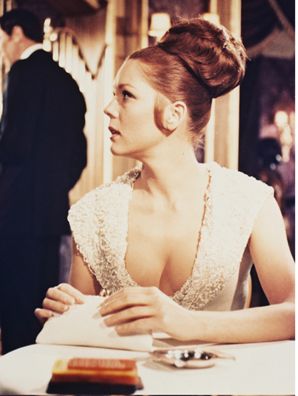 "Bond Girls - Diana Rigg played Teresa di Vicenzo in ""On Her Majesty's Secret Service."""