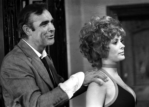 "Bond Girls - Jill St. John played Tiffany Case in ""Diamonds Are Forever."""