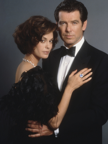 "Bond Girls - Teri Hatcher played Paris Carver in ""Tomorrow Never Dies."""