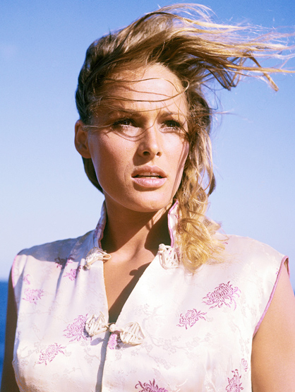 Bond Girls - Ursula Andress played Honey Rider in Dr.No.