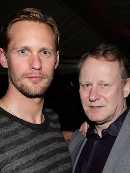 Famous Parents and Children Actors - Stellan and Alexander Skarsgrd: Stellan is best known for his role in 