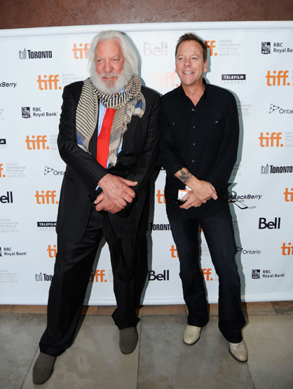"Famous Parents and Children Actors - Kiefer and Donald Sutherland: Kiefer is best known for his role on ""24,"" while Donald is best known for for ""The Invasion of the Body Snatchers.""You can catch him in ""The Hunger Games"" next. The father/son duo worked together on ""Max Dugan Returns,"" and ""A Time to Kill."""