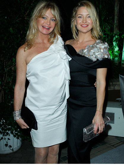 "Famous Parents and Children Actors - Goldie Hawn and Kate Hudson: Goldie is best known for ""Private Benjamin"" and ""First Wives Club,"" while Kate is known for ""How to Lose a Guy in 10 Days"" and ""Almost Famous."" The mother/daughter pair share similar looks and acting styles."