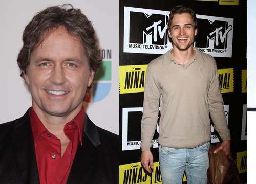 Famous Parents and Children Actors - Jon and Guy Ecker: Catch Jon on Popland as the sexy rock star Ari Morales, while Guy is known for his work on telenovelas.