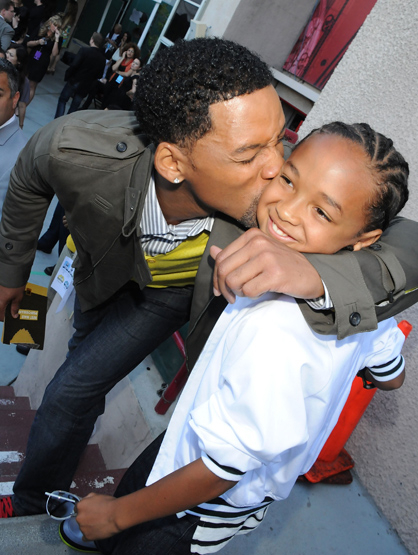 "Famous Parents and Children Actors - Will and Jaden Smith: Will is best known as the trouble making ""Fresh Prince of Bel-Air"" and ""Men in Black,"" while Jaden is known for ""The Karate Kid."" The father/son duo worked together in ""The Pursuit of Happiness."""