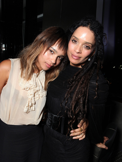 "Famous Parents and Children Actors - Lisa Bonet and Zoe Kravitz: Lisa is best known for playing ""Denise Huxtable"