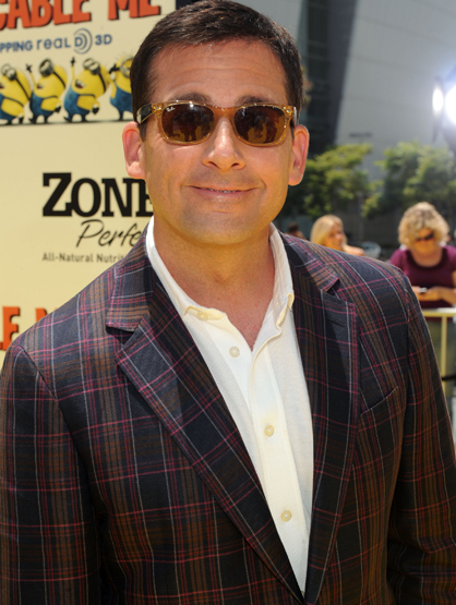 "Celebrity Parents who Voice Children's Movies - Steve Carell voiced the evil Dr. Gru in ""Despicable Me."" He stated"