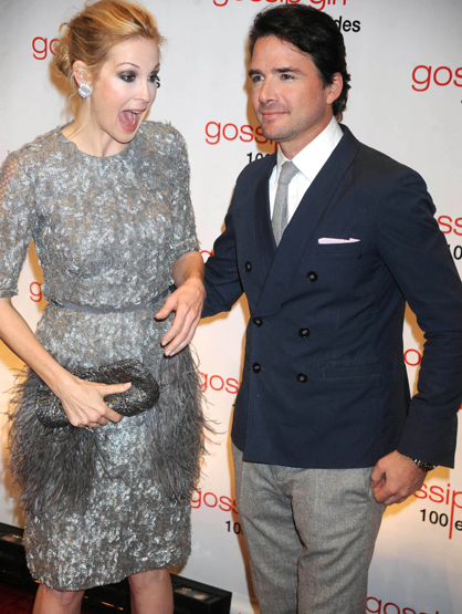 Faces and Places - 11.19.2011 Kelly Rutherford and Matthew Settle at the celebration of the 100th Episode of
