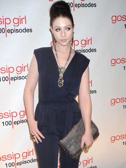 Faces and Places - 11.19.2011 Michelle Trachtenberg at the celebration of the 100th Episode of