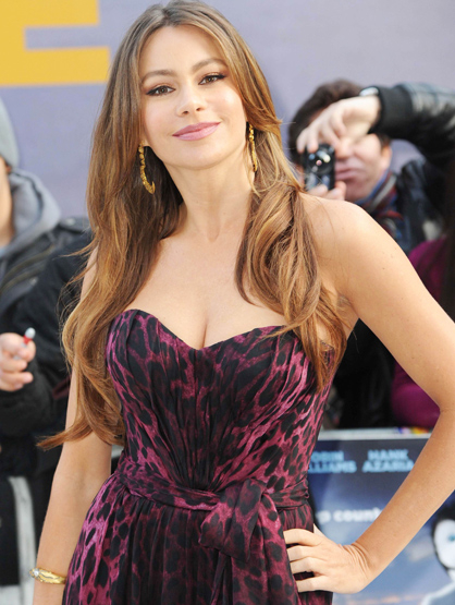 Faces and Places - 11/20/11 Sofia Vergara at the premiere of