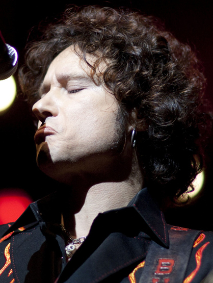 Faces and Places - 11.18.2011 Enrique Bunbury during his performance last night at the Gibson Amphitheatre in Los Angeles, as part of a U.S. tour in which he presents his ninth solo album,