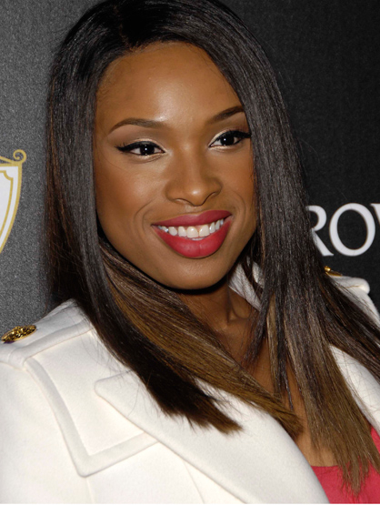 Faces and Places - 11.21.2011 Jennifer Hudson during the Swarovski Elements and Rodeo Drive Holiday Lighting Ceremony in Beverly Hills.