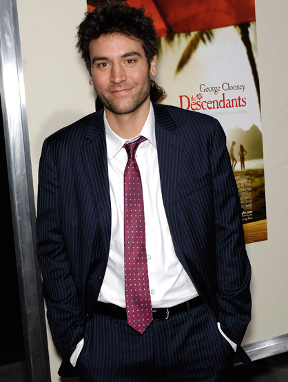 Faces and Places - 11.15.2011 Josh Radnor during the premiere of the new movie from Fox Searchlight Pictures THE DESCENDANTS.