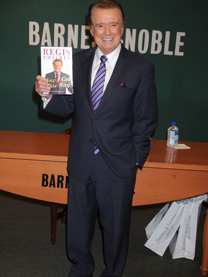 Faces and Places - 11.15.2011 Regis Philbin at a signing for his book,