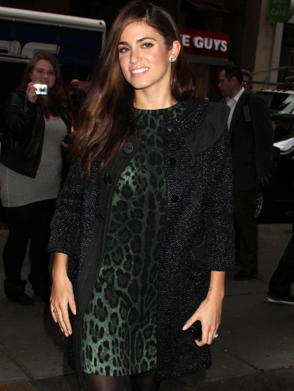 Faces and Places - 11.16.2011 Nikki Reed arrives at