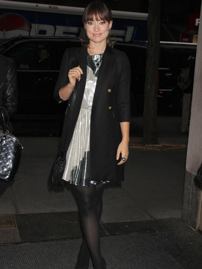 Faces and Places - 11.16.2011 Olivia Wilde arrives at