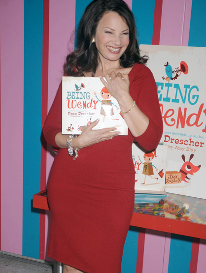 Faces and Places - 11.17.2011 Fran Drescher at a promotional event for her new book, 