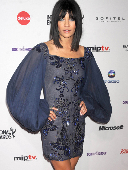 Faces and Places - 11.21.2011 Jessica Szohr at the 39th International Emmy Awards. (NYC)