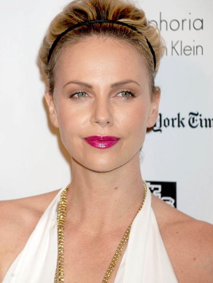 Faces and Places - 11.28.2011 Charlize Theron at the 21st Annual Gotham Independent Film Awards. (NYC)