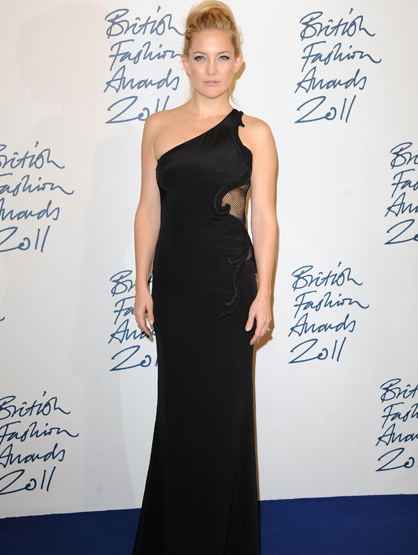 Faces and Places - 11.28.2011 Kate Hudson at the British Fashion Awards. (London, England)