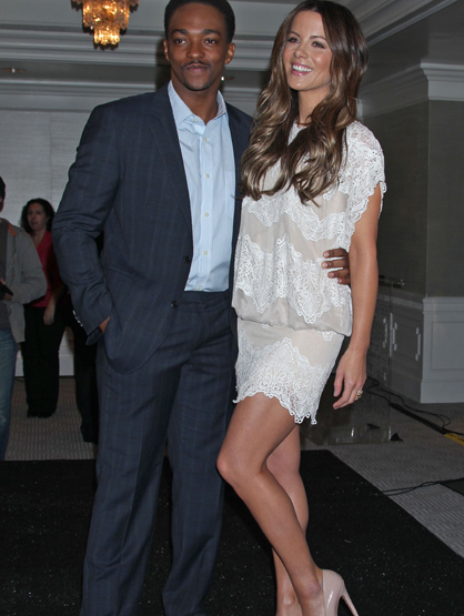 Faces and Places - 11.29.2011 Kate Beckinsale, Anthony Mackie, The 2012 Film Independent Spirit Award Nominations, London Hotel, (West Hollywood, CA.)