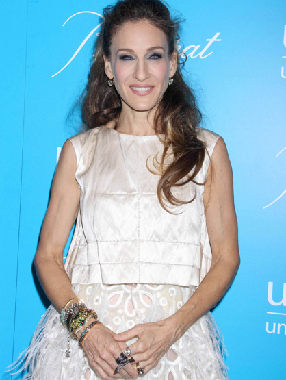 Faces and Places - 11.29.2011 Sarah Jessica Parker at the 2011 UNICEF Snowflake Ball. (NYC)