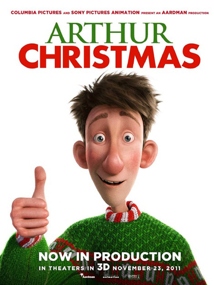 Most Anticipated Movies This Holiday Season - Arthur Christmas: features voices of James McAvoy, Hugh Laurie, Jim Broadbent, Bill Nighy, Imelda Staunton and Ashley Jensen. Set on the North Pole, the plot tells about Santa's son Arthur Christmas, who must complete a mission before Christmas morning.