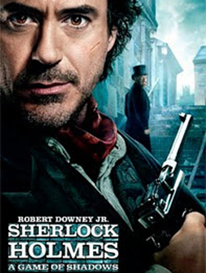 Most Anticipated Movies This Holiday Season - Sherlock Holmes: A Game of Shadows: Robert Downey Jr., Juse Law and Rachel McAdams reprise their roles as Sherlock Holmes and Dr. Watson join forces to bring down their biggest challenge, Professor Moriarty.