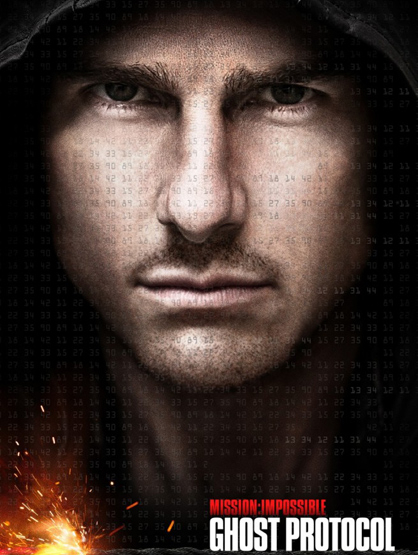 Most Anticipated Movies This Holiday Season - Mission Impossible: Ghost Protocol: An upcoming spy film, and the fourth film in the Mission: Impossible series. It stars Tom Cruise, who reprises his role of IMF Agent Ethan Hunt.