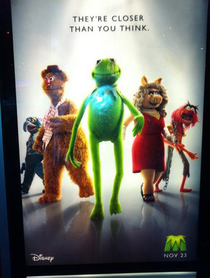 Most Anticipated Movies This Holiday Season - The Muppets: The whole Muppets gang is back for the first time in 12 years, Jason Segel co-wrote and stars with Amy Adams, Chris Cooper and several other surprise cameos.