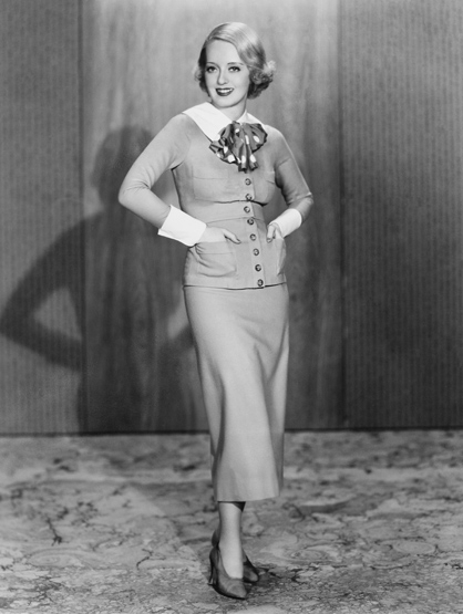 Stars With Insured Body Parts - $357,000 Waistline (28 K in 1930's): Bette Davis, Actress