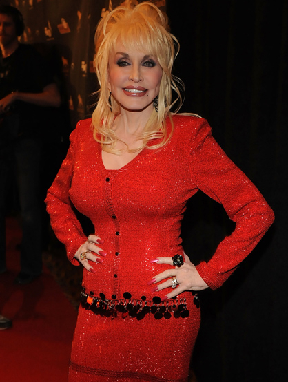 Stars With Insured Body Parts - $3.8 Million Breasts (600K in the 1970's): Dolly Parton, Singer