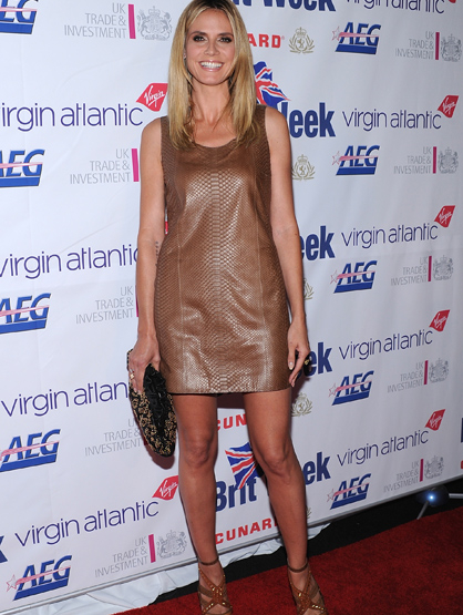 Stars With Insured Body Parts - $2.2 Million Legs: Heidi Klum, Model