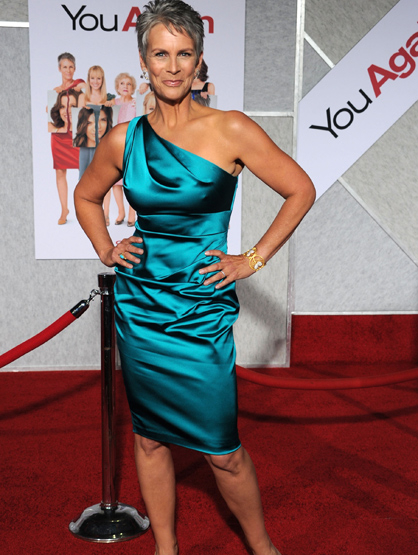 Stars With Insured Body Parts - $2.8 Million Legs: Jamie lee Curtis, Actress