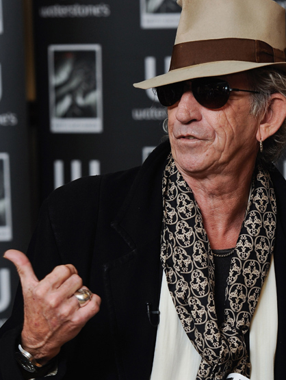 Stars With Insured Body Parts - $1.6 Million Hands: Keith Richards, Guitarist