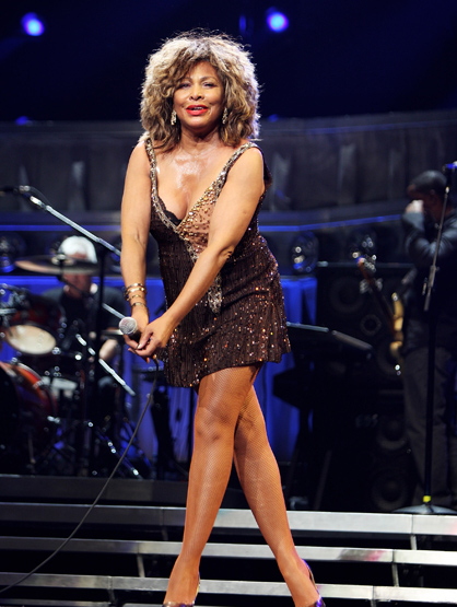 Stars With Insured Body Parts - $3.2 Million Legs: Tina Turner, Singer