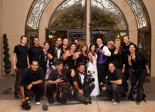 Quiero Mi Boda Season 3: Theresa and Josh - With the Tr3s Crew.