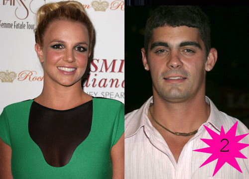 Top Shortest Celebrity Marriages - Britney Spears and Jason Alexander were married for 55 hours before the marriage ended. Do you remember when the singer exchanged surprise vows with her childhood friend?
