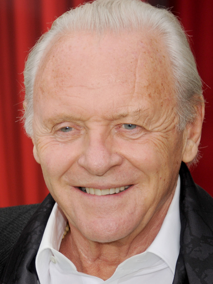 Celebrity Birthdays: December! - December 31: Anthony Hopkins (1937) is best known for his role as Hannibal Lector in 
