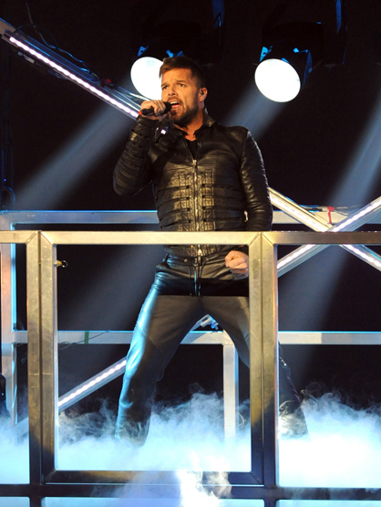 Celebrity Birthdays: December! - December 24: Ricky Martin (1971) is a singer best known for his single