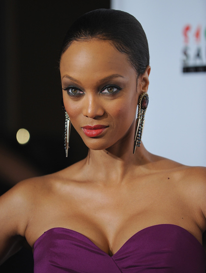 Celebrity Birthdays: December! - December 4: Tyra Banks (1973) is a model and best known for her talk show and as host of