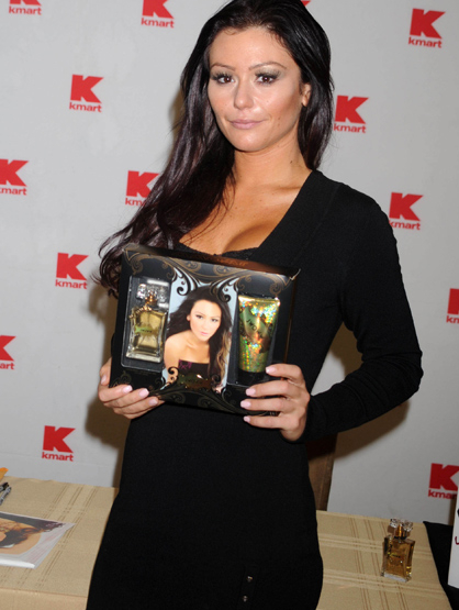 Faces and Places - 11.30.2011 JWOWW (Jenni Farley) at a promotional event for her new fragrance,