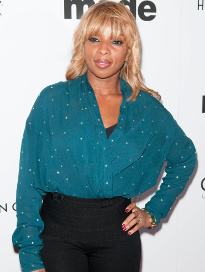 Faces and Places - 12.02.11 Mary J. Blige AT A PRIVATE BIRTHDAY CELEBRATION FOR PRODUCER AND SONGWRITER RICO LOVE DURING ART BASEL MIAMI BEACH