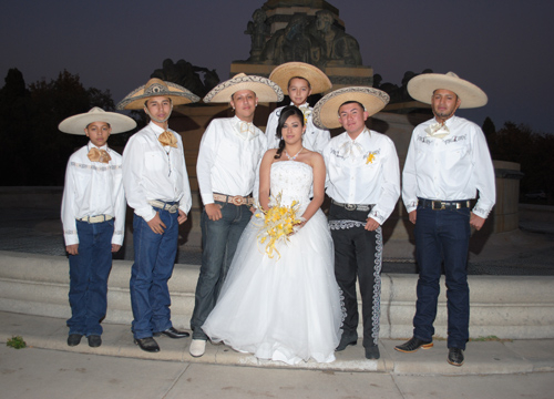 Quiero Mis Quinces | Season 7: Valeria - With my Chambelanes.