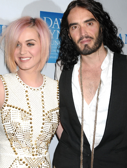 Faces and Places - 12.03.2011 Katy Perry and Russell Brand at the 3rd Annual