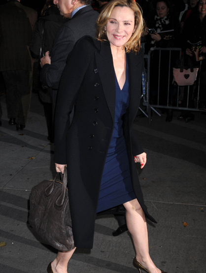 Faces and Places - 12.04.2011 Kim Cattrall at a screening of