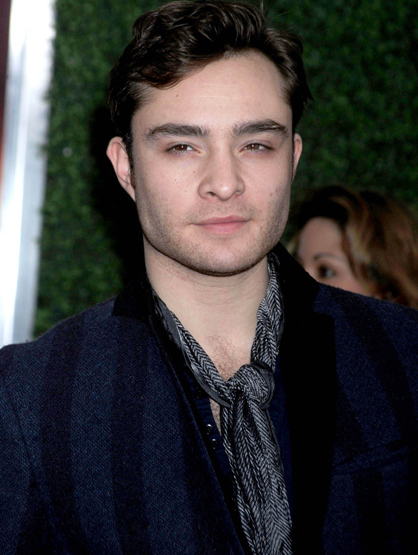 Faces and Places - 12.04.2011 Ed Westwick at the premiere of