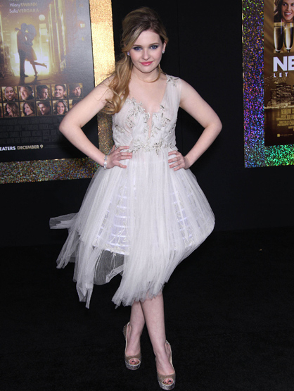 Faces and Places - 12.05.2011 Abigail Breslin at the premiere of 